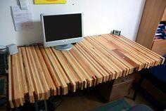 Pallet desk by Martin Wenzel of Austria