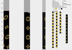 150 схем вязания жгутов на 11-12 бисерин / Вязание с бисером / Biserok.org Bead Crochet Patterns, Bead Crochet Rope, Peyote Patterns, Crochet Designs, Beading Patterns, Beaded Crochet, Handmade Beaded Jewelry, Beaded Jewelry Patterns, Dibujos Zentangle Art
