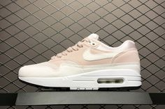 competitive price 04b7c d7dfe Womens Exclusive Nike Air Max 1 Barely Rose For Sale