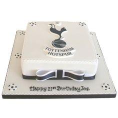 Tottenham Hotspur Birthday Cake cakepins.com