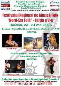 Festivalul National Nord Est Folk 2015