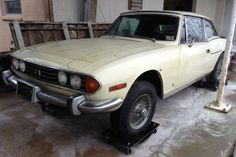 Two Triumph Stags: V8 Powered Brits - http://barnfinds.com/two-triumph-stags-v8-powered-brits/