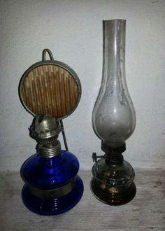 - petróleum lámpa Polish People, Oil Lamps, Romania, Childhood Memories, Poland, Retro Vintage, Objects, Bucharest, Antiques