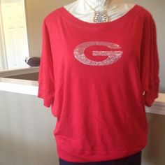 I just discovered this while shopping on Poshmark: Dolman sleeve Georgia 1X, 2X, 3X. Check it out! Price: $35 Size: 2X, listed by msyml08