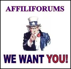 Affiliforums~ The Greatest Work At Home Forum On The Internet Is Seeking New Members ~ Come and join us ~