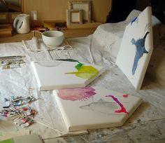 Mayako Nakamura, Artist, Japan, Works in progress