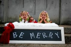 Kids Christmas session-Be Merry