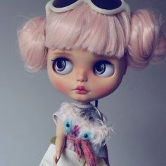 Instagram media almonddollart - May  #blythe #custom #doll #blytheinstagram…