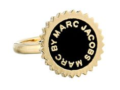 Marc by Marc Jacobs Saw Tooth Enamel Disc Ring
