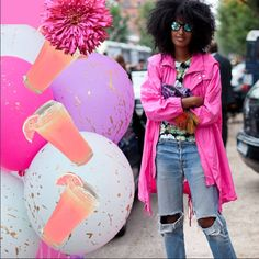 We love Julia Sarr-Jamois' effortlessly cool style! Learn how to match her style at gbemigirl.com!