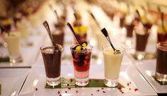 Three Shots; Lemon Posset with Popping Candy, Mixed Berry and Prosecco Jelly, Chocolate Ganache - Lemon Zest Cuisine www.lemon-zest.co.uk (Image courtesy of www.natashathompson.co.uk)