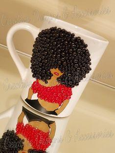 Diy Mug Designs, Tumbler Designs, Bling Heels, Girls Tumbler, Diy Mugs, Friend Mugs, Pink Bling, Mug Decorating, Custom Mugs