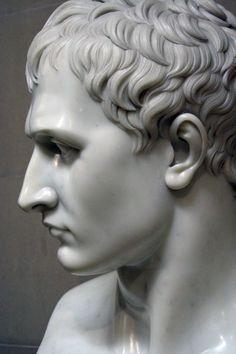 Antonio Canova - Napoleon as Mars the Peacemaker - Detail of the Head