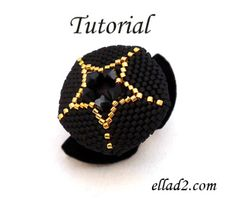 Your Own Star Ring - Beading Patterns and Projects by Ellad2 -
