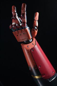 robot hand palm concept - Google Search