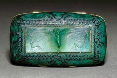 Nymph Brooch, Art Nouveau, by René Lalique. Bijoux Art Nouveau, Art Nouveau Jewelry, Jewelry Art, Vintage Jewelry, Jewelry Design, Lalique Jewelry, Inspiration Art, Alphonse Mucha, Vases