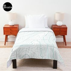 Comforter with vivid, full color print on front, white on back - 100% polyester fabric, 3/4 inch (2cm) polyester filling, and double square quilted pattern - Pillows and shams not included - Machine washable #psychology #mintgreenblanket #whiteblanket #comforter #comforters #comforterset #desire #needs #human #contour #maslow #psychologist #minimallove #beddingdecor #beddingset #beddingsets  #cozyhome #comfycozy #bedroomdecor #weperceivestyle #designoftheday  #giftideas