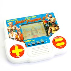 Vintage Handheld Street Fighter LCD Video Game by Tiger, Arcade Retro Games, Game Start, Old Toys, Street Fighter, Video Game Console, Nintendo Consoles, Arcade, Video Games, Store