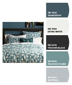 Bedroom: Paint colors from Chip It! by Sherwin-Williams. Perrrrfect!!! So excited to finally find my colors for my bedroom!!!