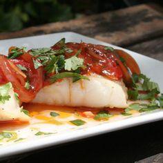 Pescado en Salsa Criolla (Fish in Creole Sauce) | Hispanic Kitchen