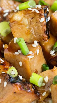 Honey Soy Pork Loin is spicy, sweet, and very simple to make. This pork is delicious and tender and will melt in your mouth. Easy Asian Recipes, Ethnic Recipes, Asian Stir Fry, Dinner Recipes, Sweets Recipes, Dinner Ideas, Desserts, Healthy Weight Gain, Frugal Meals