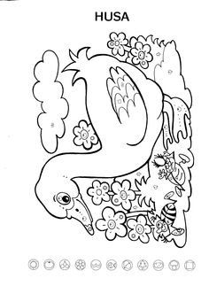 Husa Sudoku, Farm Animals, Appliques, Coloring Pages, Embroidery Designs, 1, Clip Art, Bottle, Craft
