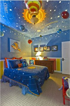 Boy's Space Room