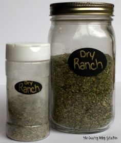 Homemade Ranch  I (Laura), have personally made this twice and can say that we will not be buying store bought ranch ever again!