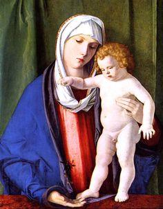 Una de las Madonas de Giovanni Bellini.