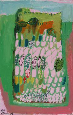 Pineapple Terrarium I Original oil painting on by BrookeWandall, $98.00