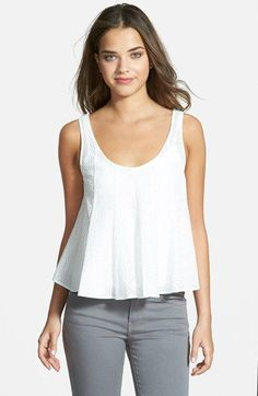 Rebecca Minkoff 'Gretchen' Sleeveless Top available at #Nordstrom