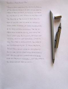 Inkless Metal Pen: S