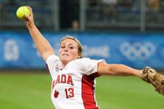 Danielle Lawrie pitched for the Canadian National Team in the 2008 Olympics