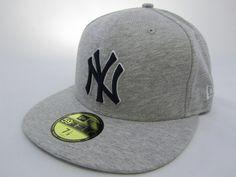 Gorra plana New York New Era yankees gris claro