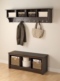 24 Enchanting Entryway Coat Rack Furniture Entryway Bench With ...