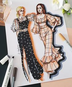 Fashion design sketches 797559415249335731 - ✔ Dress Drawing Sketches Haute Couture Source by Dress Design Sketches, Fashion Design Sketchbook, Fashion Design Drawings, Fashion Sketches, Drawing Sketches, Drawing Art, Drawing Tips, Fashion Drawing Dresses, Fashion Illustration Dresses