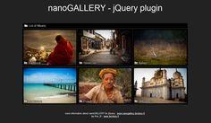 nanoGALLERY : jQuery Image Gallery Plugin