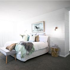 Regram from our lovely stockist @hamptons_at_home_sydney featuring our ever popular Klop Stool (available from them and that they supplied) for a recent @threebirdsrenovations reveal. #uniqwa #uniqwacollections #reno #renovate #renovation #renovations #renovating #bedroom #bedside #furniture #furnituredesign #interior #interiör #interiors #interiordesign #interiordecor #interiordecorator #interiorstyle #interiorstyling #interiordesigns