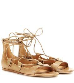 Isabel Marant Alisa Leather Sandals For Spring-Summer 2017