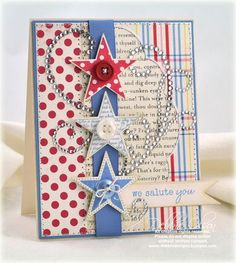 Perfect Fourth of July card.