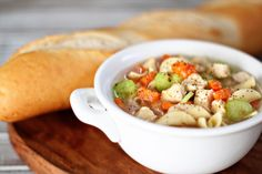 Chicken Noodle Soup   Homemade Food Recipes