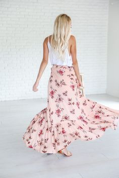 Summer Breeze Maxi Skirt