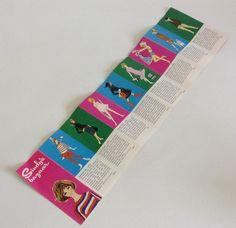 1963 Pedigree Sindy doll fashion brochure.