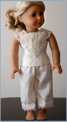Dollhouse Designs Victorian Camisole and by DollhouseDesigns