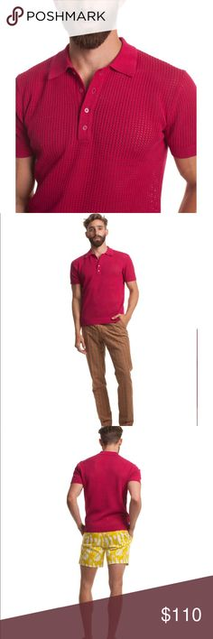 Mr. Turk Polo Shirt in Cotton Mesh New w Tag Size XXL New in Packaging Mr. Turk Shirts Polos