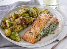 Salmon is an easy an impressive meal!Spinach Stuffed Salmon is an easy an impressive meal!Stuffed Salmon is an easy an impressive meal!Spinach Stuffed Salmon is an easy an impressive meal! My Daughter Poem for Daughter To Our Daughter Gift for my Salmon Recipes, Fish Recipes, Seafood Recipes, Dinner Recipes, Cooking Recipes, Healthy Recipes, Dinner Ideas, Meal Ideas, Salmon Meals