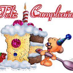 Happy Birthday to You, Felicidades - ツ Imagenes para Cumpleaños ツ Happy Birthday Ecard, Birthday Wishes Greetings, Happy Birthday Candles, Birthday Greeting Cards, Birthday Quotes, Glitter Birthday, Birthday Breakfast, Birthday Images, Holidays And Events