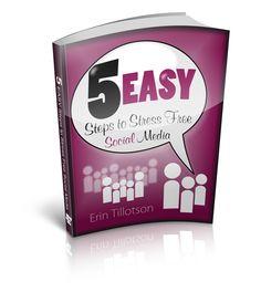 5 Easy Steps to Stress Free Social Media #SocialMedia