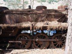 Abandoned Steam Engines, Argolis, Greece | Retronaut