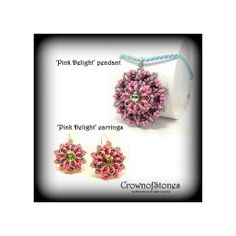 SPECIAL OFFER price marked down 'Pink Delight' by CrownofStones, €5.50